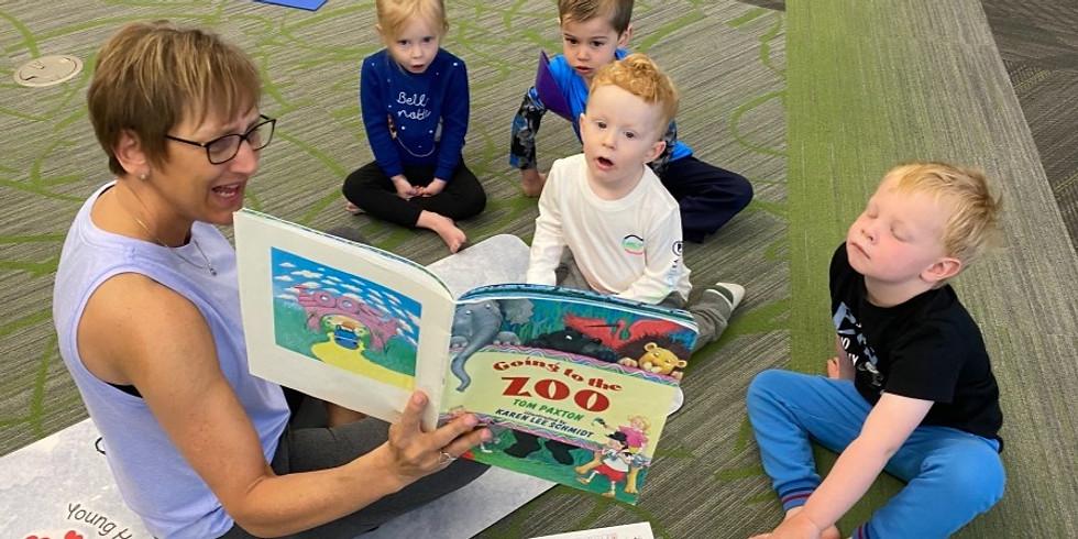 Preschool Story Time Yoga~Parent/Caregiver & Me - SR