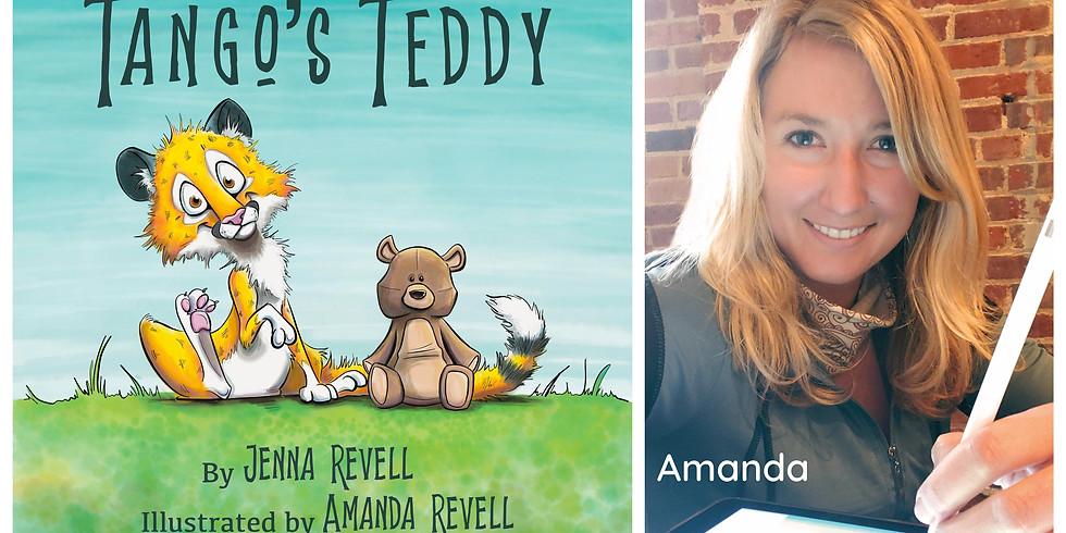 Preschool & Kindie Story Time Yoga~Tango's Teddy with Illustrator, Amanda Revell- LT