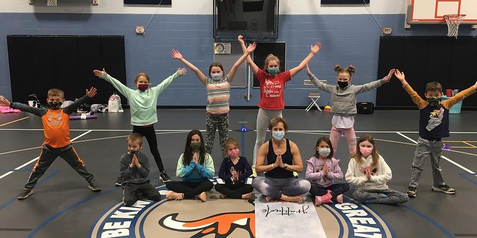 Fox Creek After School Yoga- Happy Body, Happy Mind, Happy Me!