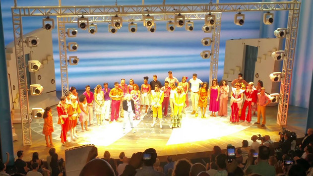 Closing Performance of Mamma Mia! 2015