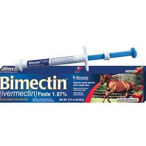 BIMECTIN (IVERMECTIN) PASTE 1.87% 6.08GM