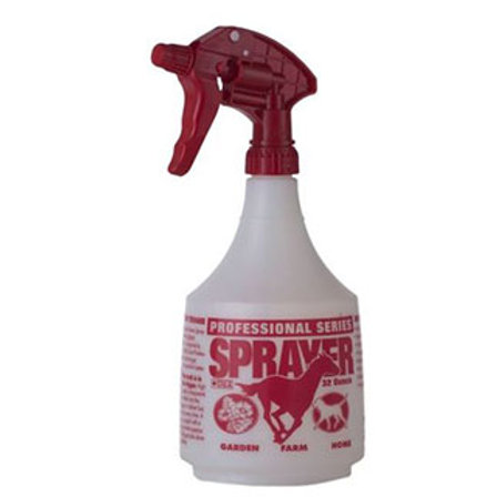 PROFESSIONAL SPRAY BOTTLE 32OZ RED