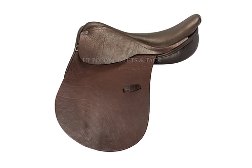 Buffalo Leather Polo Saddle / Montura de Buffalo