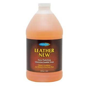 LEATHER NEW GLYCERINE SADDLE SOAP 64 OZ.