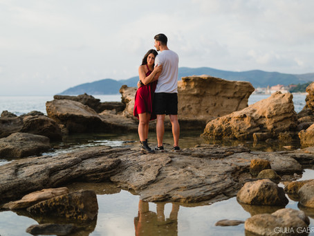 Servizio di coppia sul mare a Castellabate