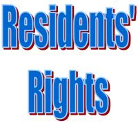Residents Rights / Derechos del Residente