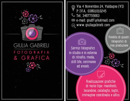 Biglietto da visita STUDIO FOTOGRAFICO
