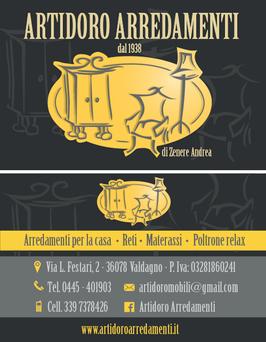 Biglietto da visita NEGOZIO ARREDAMENTI