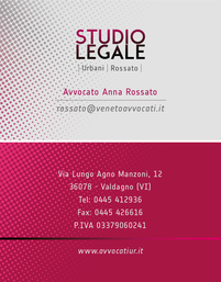 STUDIO LEGALE URBANI/ROSSATO