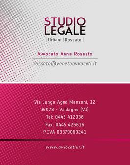 Biglietto da visita STUDIO LEGALE