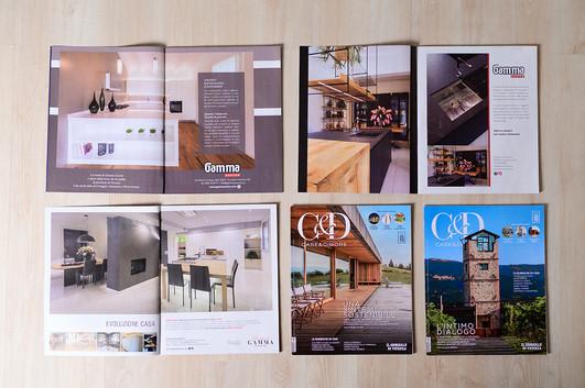 Pubblicazioni sulla rivista Case & Dimore