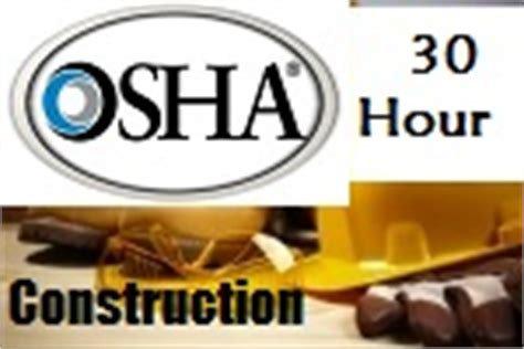 OSHA 30HR Contruction Training Course ONLINE