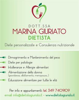 MARINA GIURIATO DIETISTA