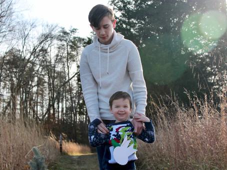 Johnson-Clayton Family @ Spotsylvania Battlefield, Virginia