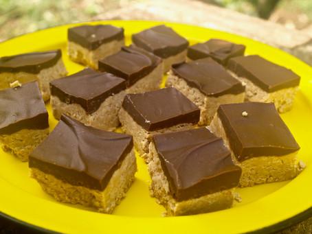 5 Ingredient Peanut Butter Bars