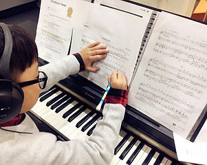 composition piano lesson