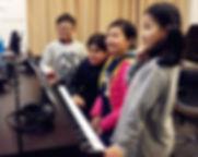 sightreading piano lesson