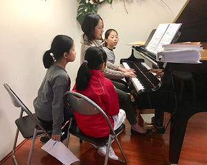 piano camp live music appreaication group lesson