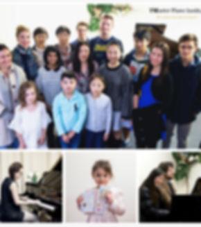 Music salon at Master Piano Institute