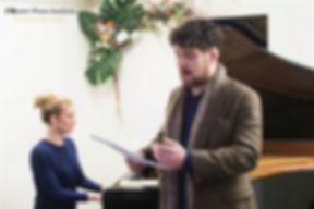 Private singing lesson at Master Piano Institute