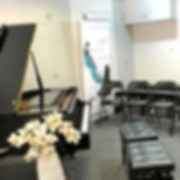 Grand piano practice room hire Master Piano Institute