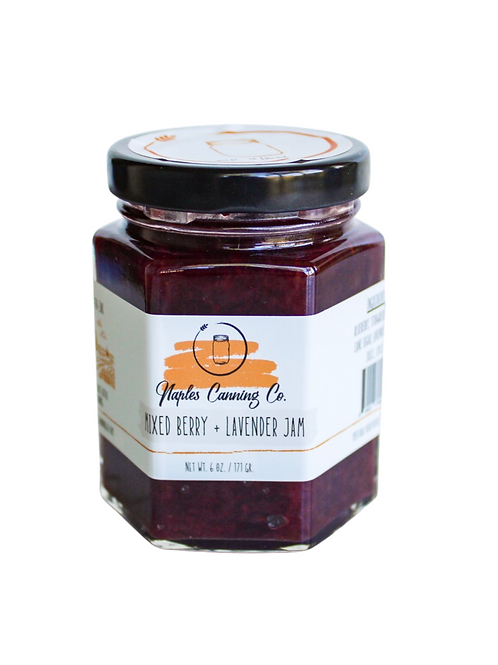 Mixed Berry + Lavender Jam