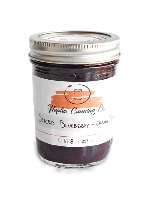 Spiced Blueberry + Orange Jam