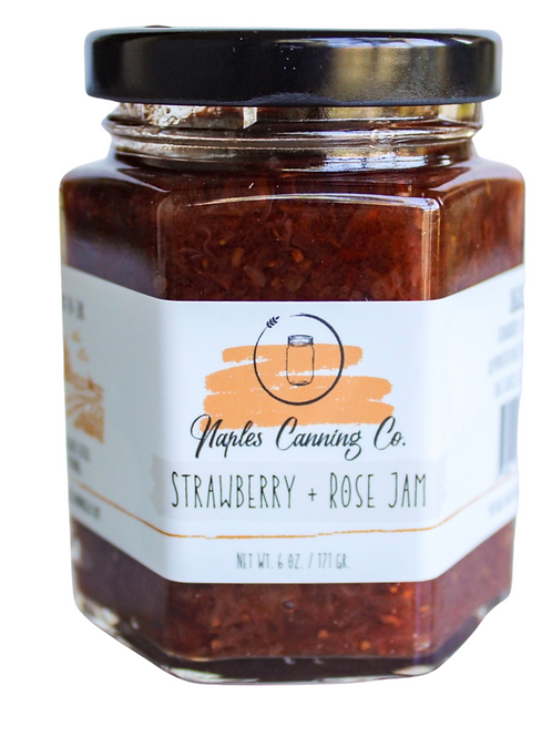 Strawberry + Rose Jam