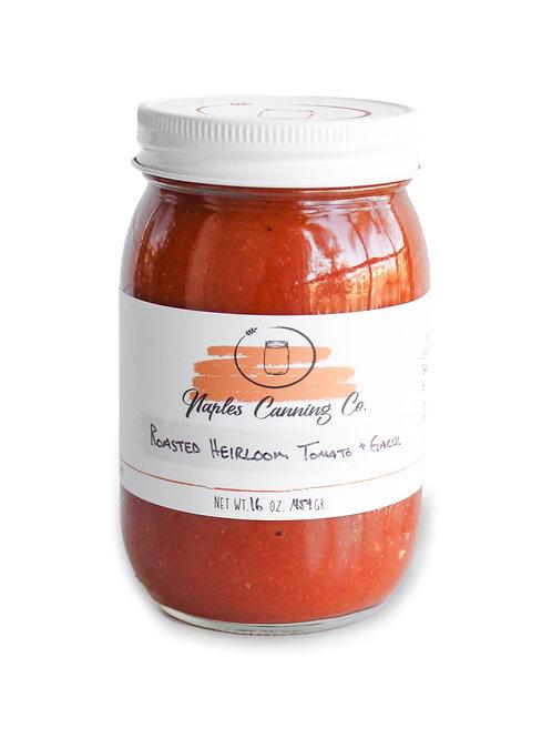 Roasted Heirloom Tomato + Basil Sauce