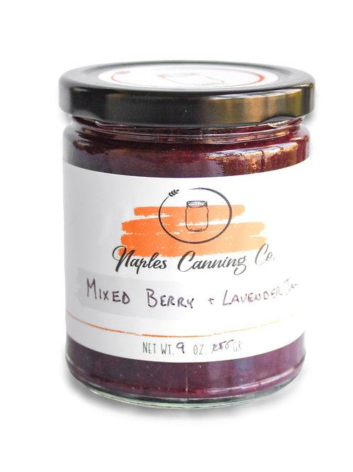 Mixed Berry + Lavender Jam