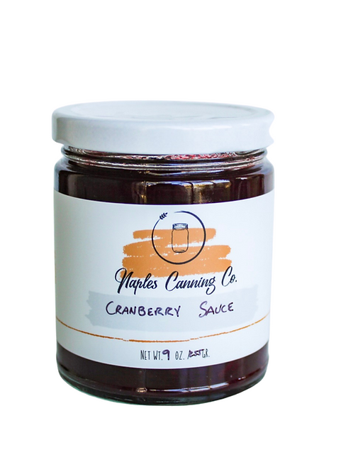 Apple + Fennel Cranberry Sauce