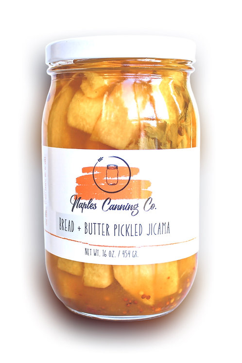 Bread + Butter Pickled Jicama