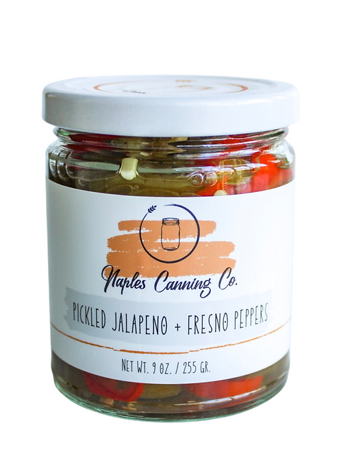 Pickled Jalapeno + Fresno Peppers