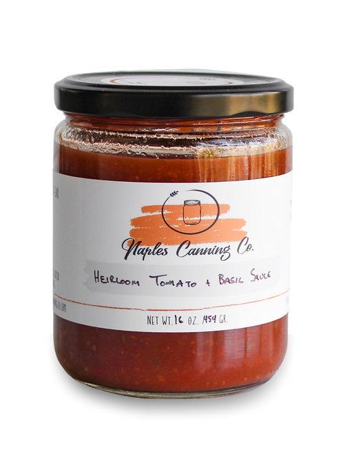 Heirloom Tomato + Basil Sauce