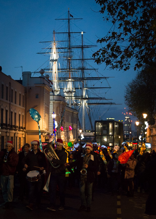 Photographing the Greenwich Lantern Parade for Greenwich Market