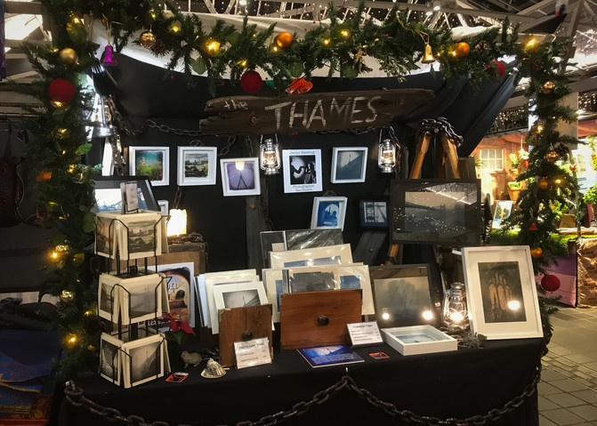 It's Christmas! I'm at Greenwich Market every Thursday and Friday