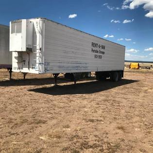 40' Refer Storage Van