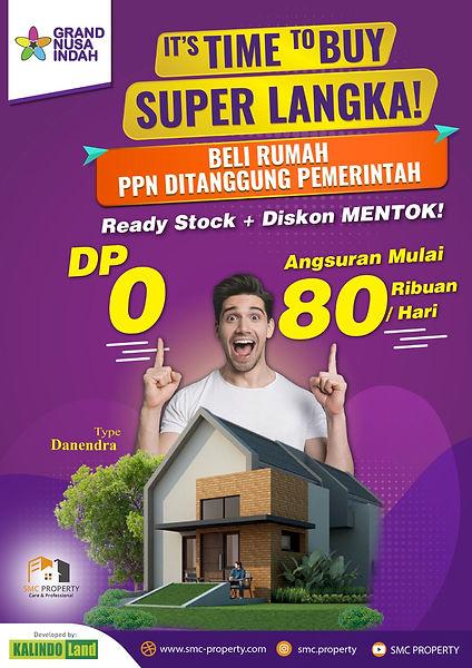 Promo Perumahan Grand Nusa Indah Cileungsi, Dekat Dari Cibubur