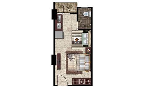 Apartemen Kelapa Gading Type Studio A