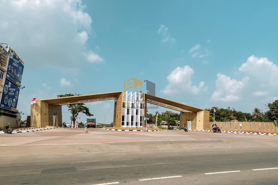 gerbang utama grand nusa indah 2