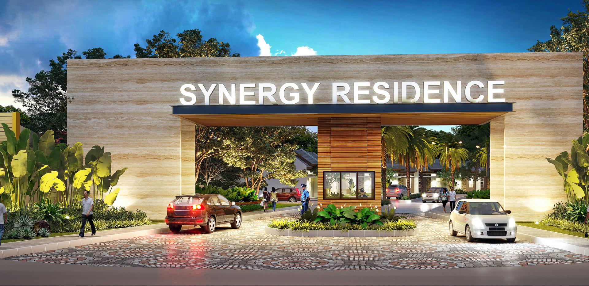 SYNERGY MAIN GATE