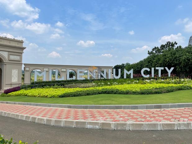 TAMPILAN DEPAN MILLENIUM CITY 3
