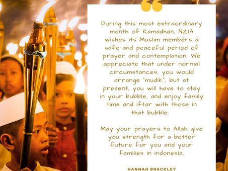A Ramadan message from Hannah