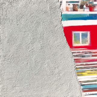 A House Story45.5x45.5cm.Acrylic & Mixed