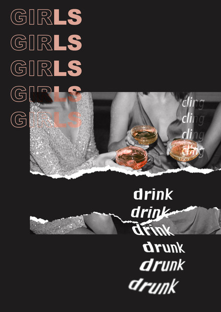 Girls Night Print