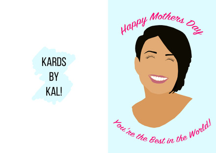 Mothers Day Portrait Card