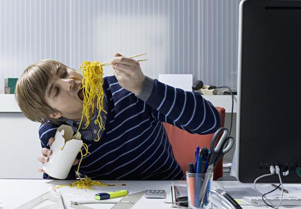 Stop Eating at Your Desk