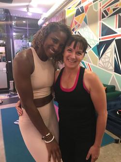 Me and Koya Webb