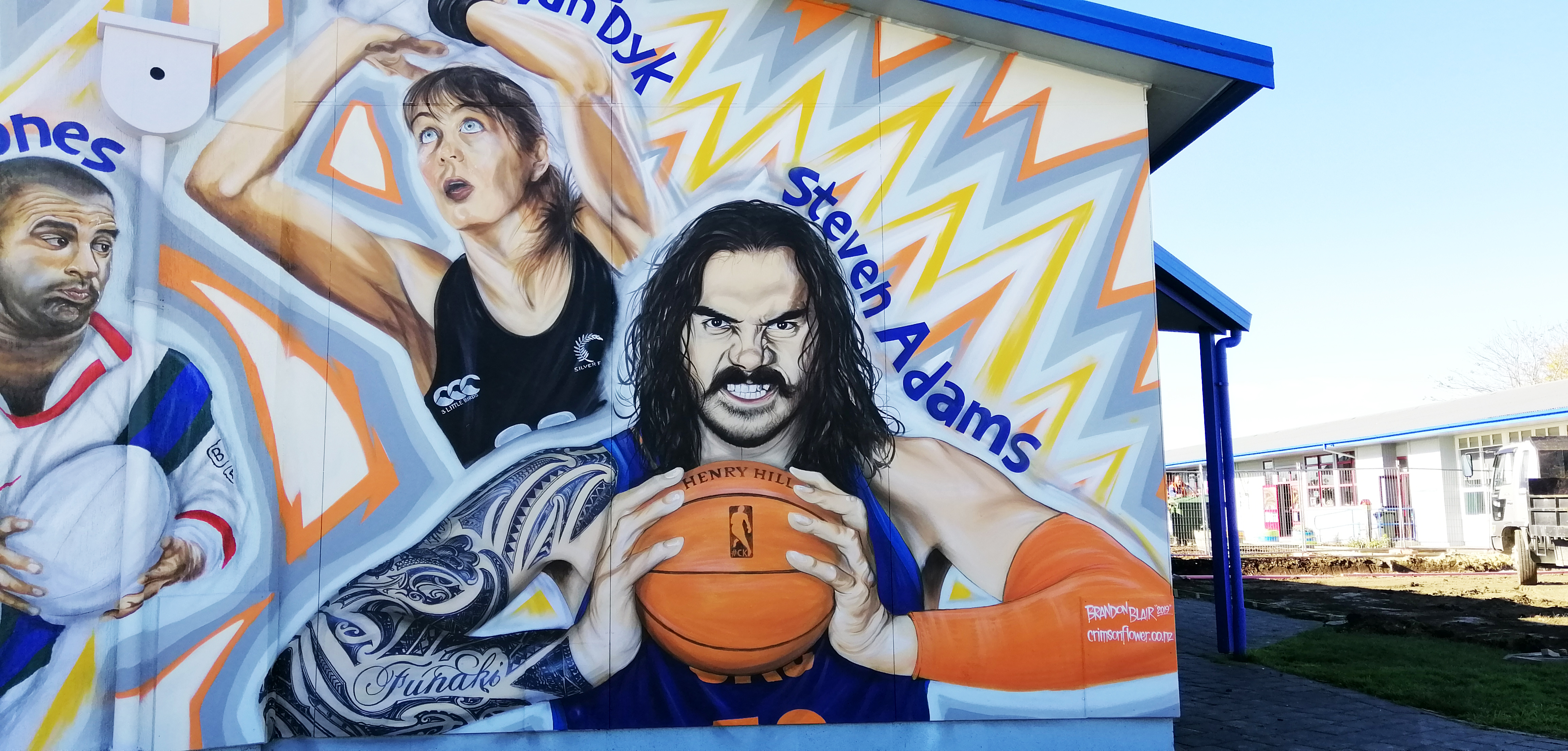 steven adams finished