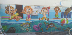 pool mural finished